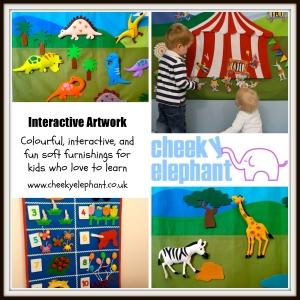 cheeky elephant - Interactive Artwork