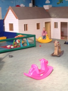 The Toddler Area