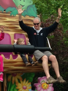 LSh and The Bear on Jungle Bouncers